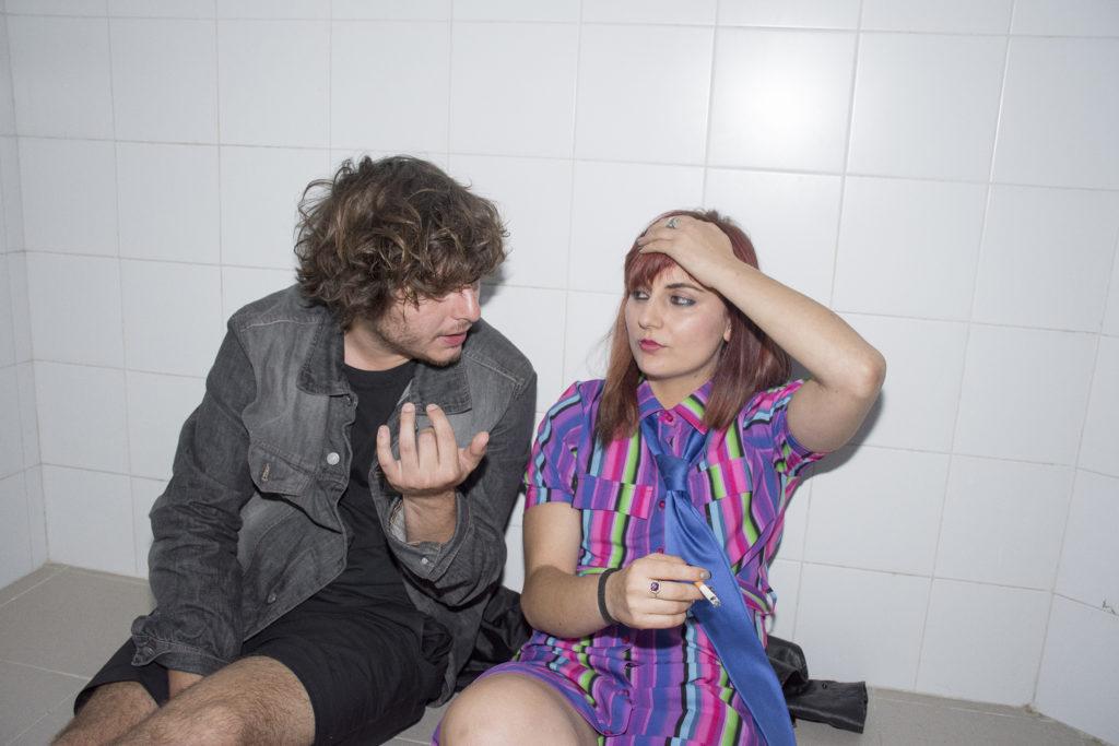 Francesco De Leo e Sara di Iacovo (fotografia di Andrea Varlaro)